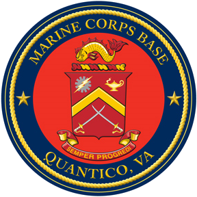 """Seal of Marine Corps Base Quantico"" by United States Marine Corps - Public Affairs Office, Marine Corps Base Quantico. Licensed under Public Domain via Wikimedia Commons - http://commons.wikimedia.org/wiki/File:Seal_of_Marine_Corps_Base_Quantico.png#/media/File:Seal_of_Marine_Corps_Base_Quantico.png"